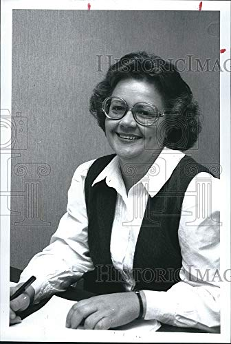 Vintage Photos 1990 Press Photo Naomi Elliott Russell County Registars