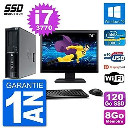 HP PC Workstation Z220 SFF - Pantalla de 19