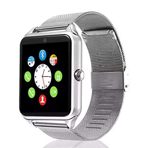 Smart watch with camera.