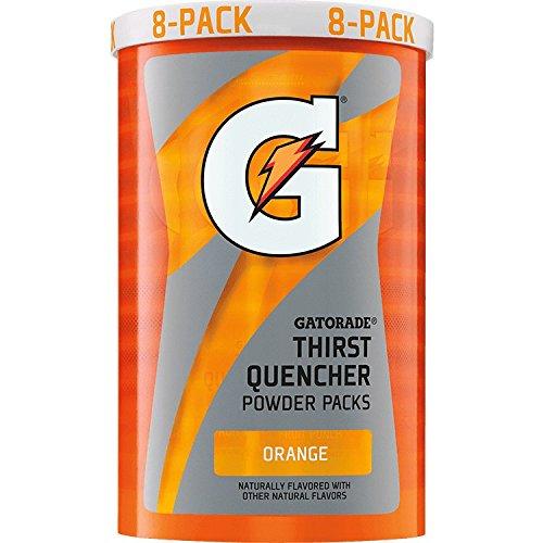 (Gatorade 13165 Instant Powder Sticks, Orange, 20 oz. (Pack of 64))