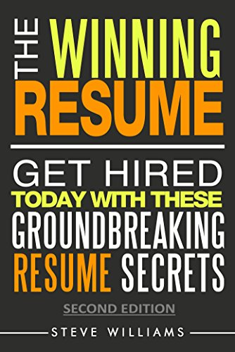 amazon com resumes 2018 the winning resume 2nd ed get hired