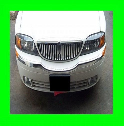 LINCOLN LS 2000-2006 CHROME GRILLE GRILL KIT 00 01 02 03 04 05 06 2001 2002 2003 2004 2005 SPORT LSE ULTIMATE LUXURY