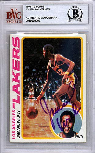 a0fd15a0c5e Jamaal Wilkes Autographed Signed 1978 Topps Card  3 Los Angeles Lakers - Beckett  BAS Certified
