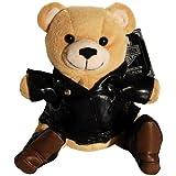 Harley Davidson Motorcycle Kickstart Teddy Bear Bean Bag Plush