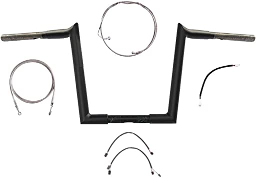 Wild 1 WO806 1 to 1 1//4 Handlebar Riser Adapter Set for 2007 and Newer Harley-Davidson models 21-1806