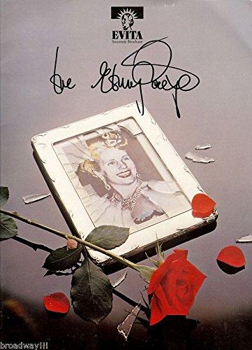 "Elaine Paige (Signed) ""EVITA"" Andrew Lloyd Webber 1978 London Souvenir Program"