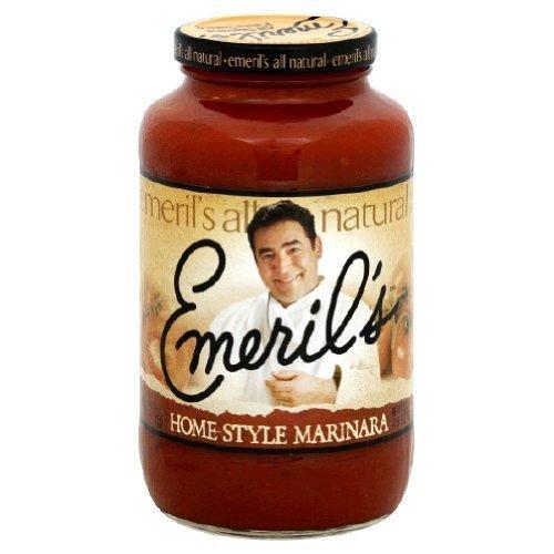 Emerils Home Style Marinara Pasta Sauce, 25 Ounce -- 6 per case. by Emerils [Foods]