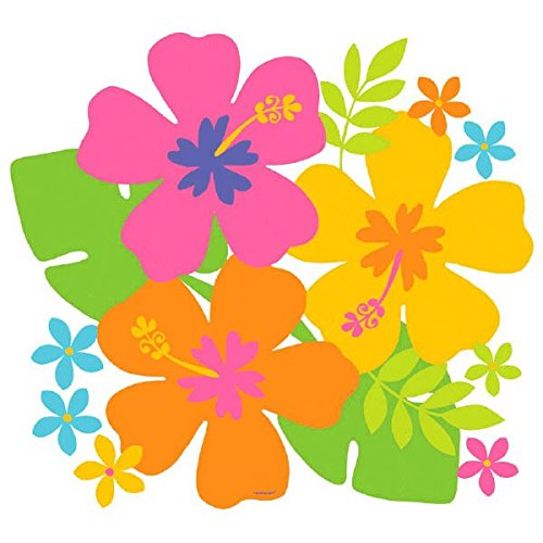 Amscan Hibiscus Party Cutout]()