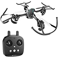Holy Stone HS170G Night Elven Mini RC Quadcopter Drone with Altitude Hold Function, Headless Mode, 3D Flips, One Key Engine Start Emergency Stop, Color Blue