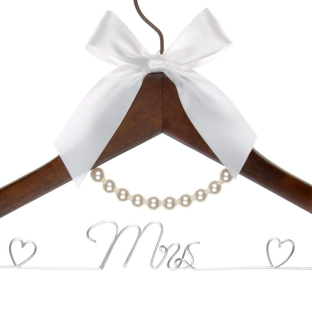 Vnque Handmade Mrs Wedding Hanger