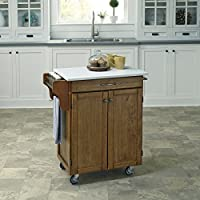 Home Styles 9001-0610 Cuisine Cart, Warm Oak Finish