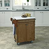 Home Styles 9001-0610 Cuisine Cart, Warm Oak Finish