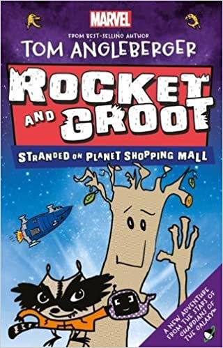 Image result for Rocket and Groot Stranded On Planet Shopping Mall