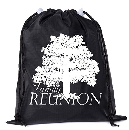 Mato & Hash Family Reunion Gift Bags | Mini Drawstring Bags for Family Reunions, Drawstring Party Favor