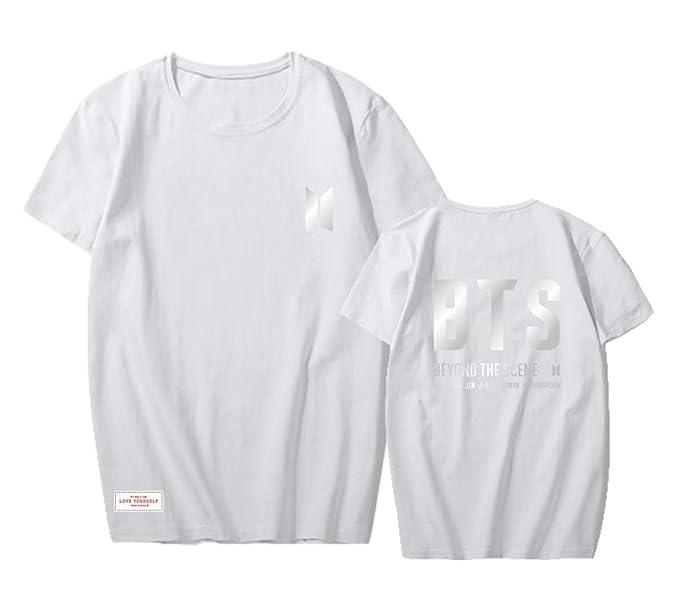 ACEFAST INC Kpop BTS Love Yourself Shirt Speak Yourself World Tour T Shirt Suga Jimin V Jung Kook RM Jin J-Hope Tops