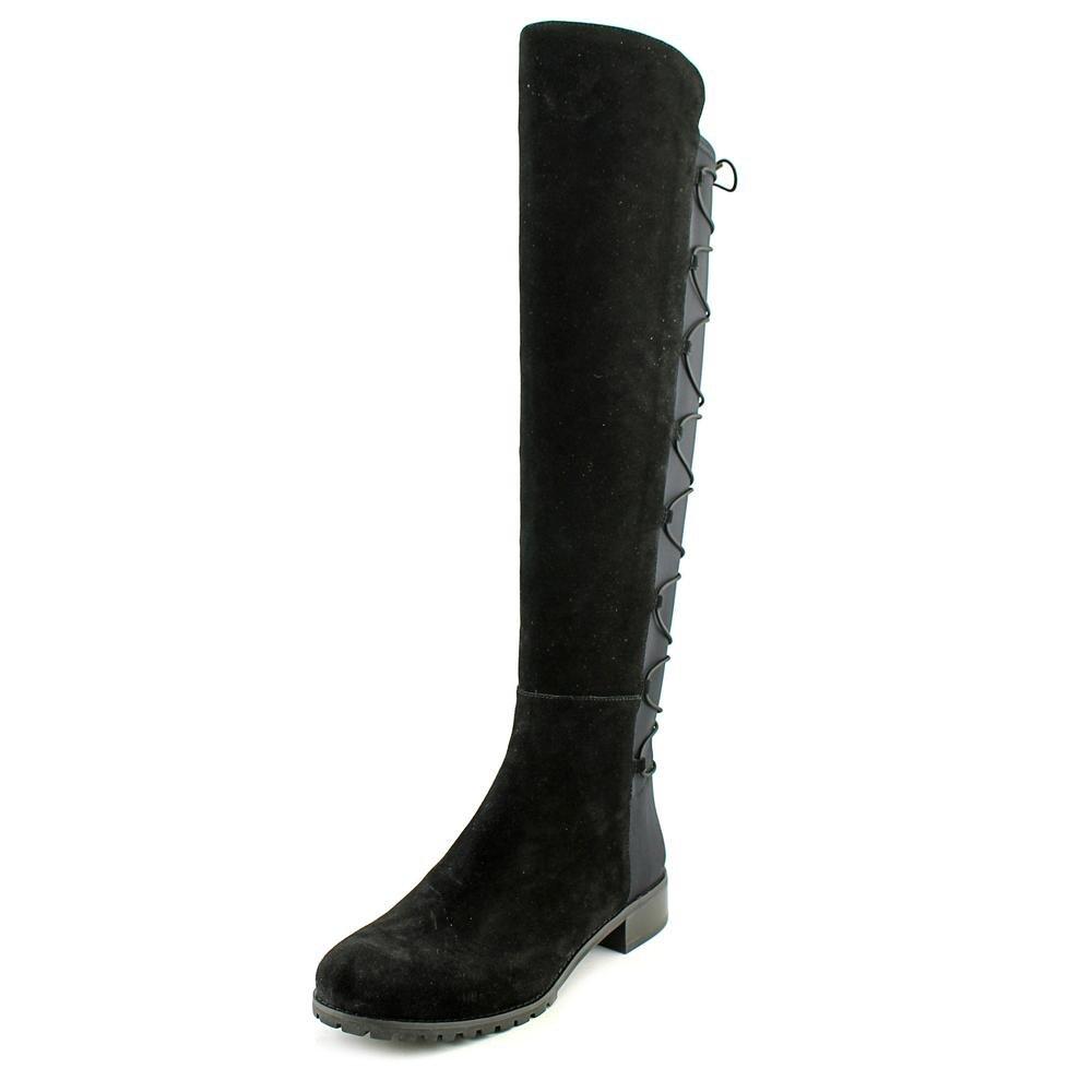 MICHAEL Michael Kors Women's Skye Boot Black Sport Suede/Scuba Boot 8.5 M