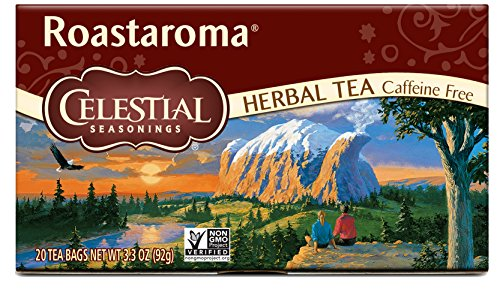 Celestial Seasonings Herbal Tea, Roastaroma, 20 Count (Pack of (Barley Tea Caffeine)