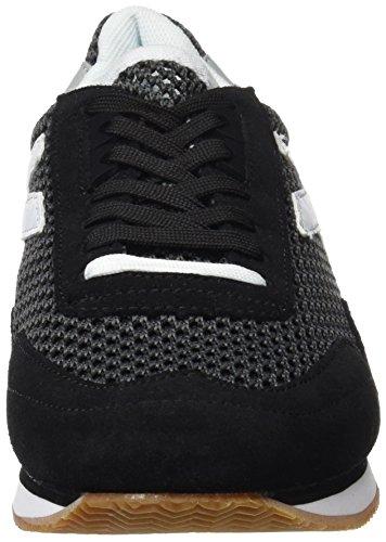 Kelme Mesh Passion Noir Femme Baskets Black 138 Blanco HfHwxrS