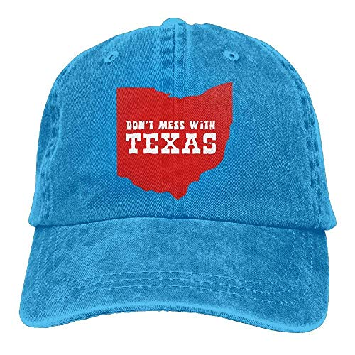 Don't Texas for with Cowgirl Cowboy Skull Hat Denim Sport Men DEFFWB Women Mess Hats Cap HawBAx