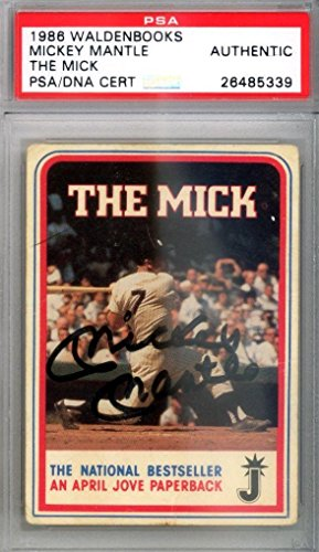 mickey-mantle-autographed-signed-1986-waldenbooks-card-new-york-yankees-psa-dna-certified-mlb-autogr