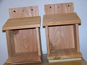 Cedarnest Cardinal Nesting Shelves