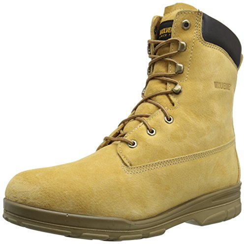 Wolverine Men's Trappeur-WPF 8 Inch Dura Work Boot, Gold, 12 M US