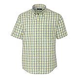 Cutter & Buck BCW09555 Boys' Short Sleeve Wrinkle Free Luis Rey Check, Multi-3XB
