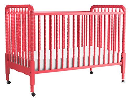Davinci Jenny Lind 3-in-1 Convertible Crib, Coral