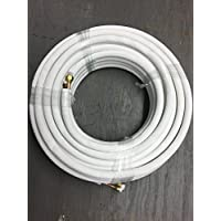 "Fragment Minisplit lineset 50 ft 1/4""-3/8"" insulated flared"