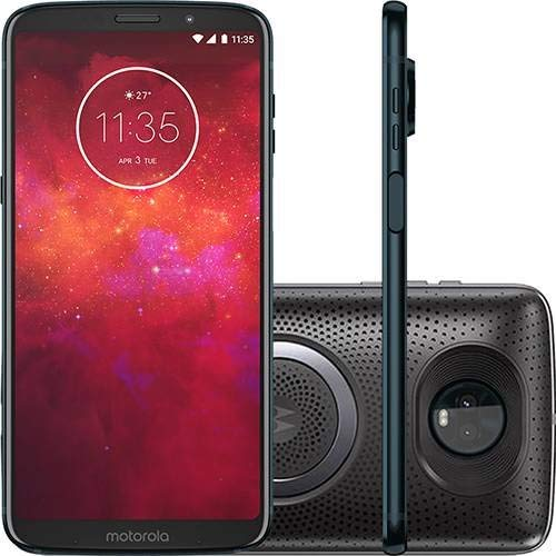 Smartphone Motorola Moto Z3 Play Sound 64GB