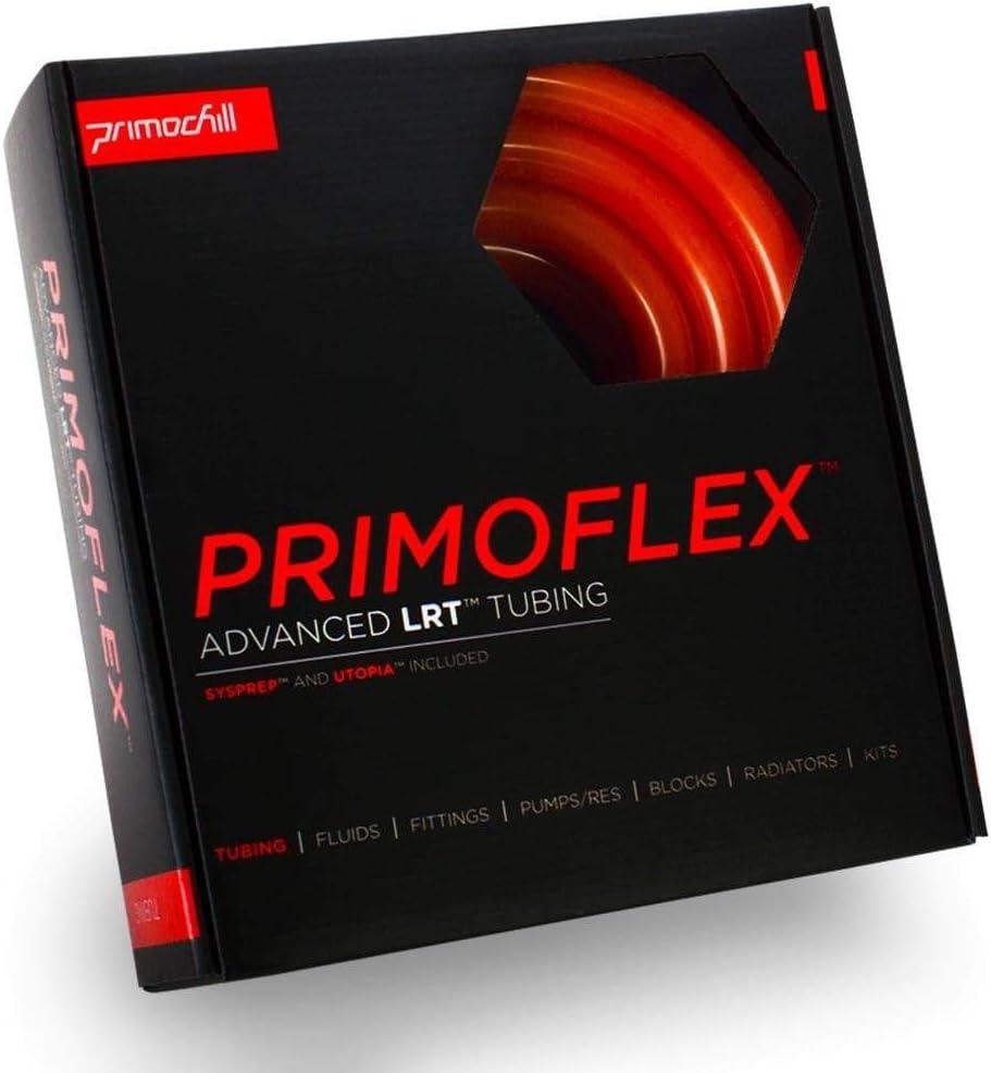 PrimoFlex Advanced LRT 3//8in 10ft Pack OD Tubing Bundle - Pearl UV Orange ID x 5//8in
