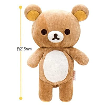 "Original San-x Bear 8.5"" Tall Rilakkuma Stuffed Doll: Toys & Games"