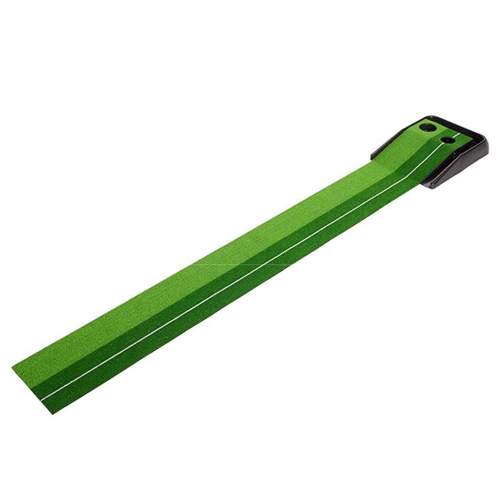 ゴルフパッティンググリーンミニゴルフパッティング練習オフィス用グリーン練習カーペットパタートレーナーファミリーゴルフGolf Greens (Color : Green, Size : 250*30*2cm) 250*30*2cm Green B07QNKH22Q