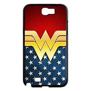 Customize Cartoon Wonder Woman Back Cover Case for Samsung Galaxy Note 2