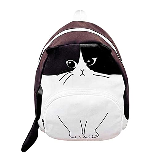 Amazon.com: XIATUALEE Printing Backpack Women Canvas School Backpack Teenagers Casual Bookbags A01: Garden & Outdoor