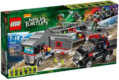 LEGO Teenage Mutant Ninja Turtles Big Rig Snow Getaway [743 ...