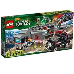 Amazon.com: LEGO Ninja Turtles 79116 Big Rig Nieve Getaway ...
