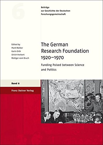 The German Research Foundation 1920-1970