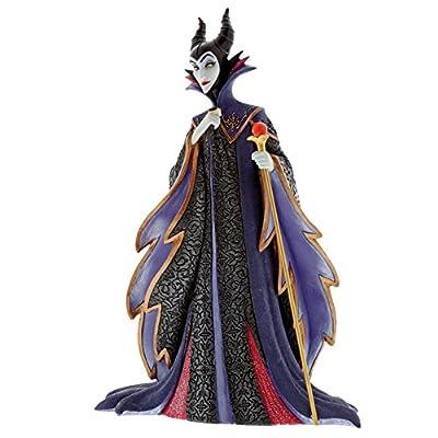 "Enesco Disney Showcase Sleeping Beauty Maleficent, 8.75"", Multicolor Stone Resin Figurine"