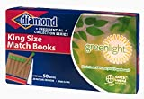 Diamond Brands King Size Book Matches, 50 Matchbooks