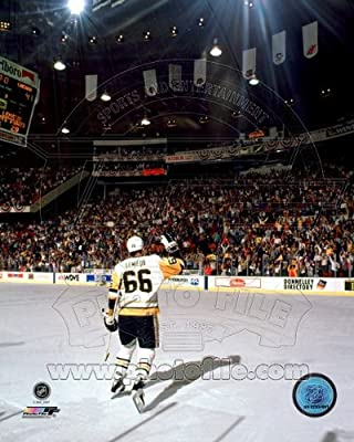 Mario Lemieux Pittsburgh Penguins 2004 NHL Action Photo 8x10