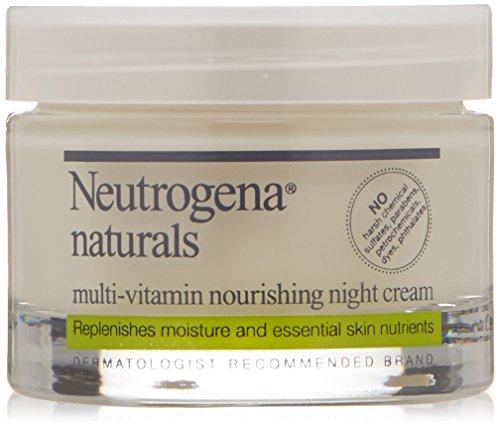 Neutrogena crème Naturals multi-vitamine nourrissante nuit, 1. 7 Oz