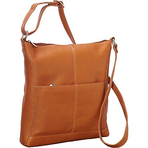 Le Donne Leather Easy Slip Cross-Body Bag, Tan