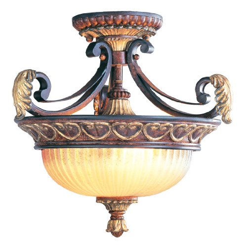Livex Lighting 8577-63 Villa Verona 2 Light Verona Bronze Finish (Aged Bronze Hanging)
