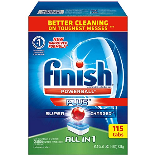 Finish Powerball All In 1 Automatic Dishwasher Detergent