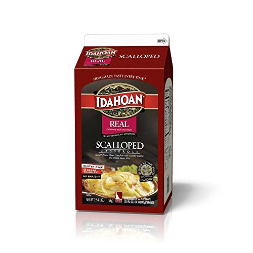 Idahoan Casserole Scalloped Potatoes, 2.54 Pound - 6 per case. by Idahoan
