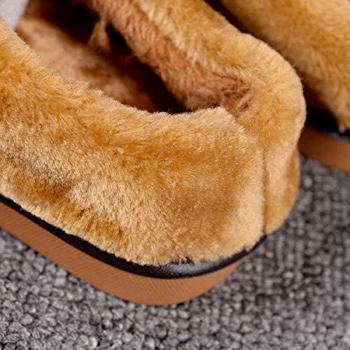 Scarpe Invernali Pelle Adatto Caldo Suola Con Di 35 Metà Per Coperta Mezza Spessa Pantofole 36 Cotone In Confezione 39 40 Resistenza Lianaio Da Casa U4Y6pqwF