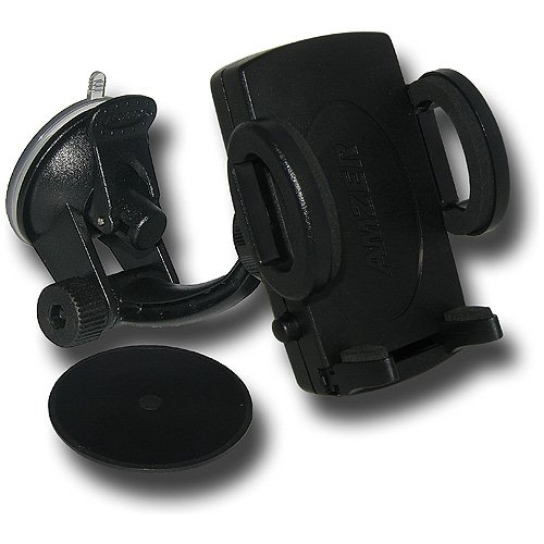 Amzer Universal Suction Cup Mount for Windshield, Dash or Console - Mount - Bulk Packaging - -