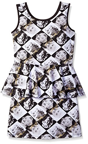 Marilyn Monroe Big Girls' Allover Face Print Dress
