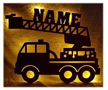 Namofactur Schlummerlicht24 Led Feuerwehr Wagen ...